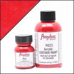 Peinture cuir Angelus Rouge